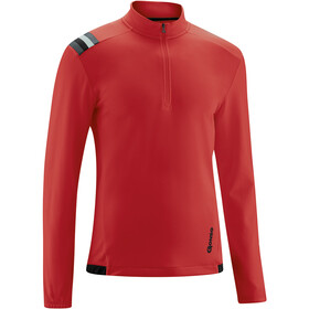 Gonso Kroix Half-Zip Langarm Trikot Herren high risk red